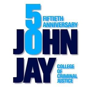 John Jay 50th Anniversary logo