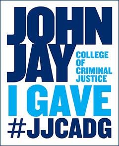 John Jay I Gave #JJCADG