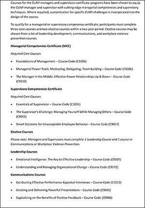Management | John Jay College of Criminal Justice