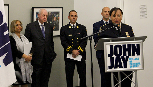 Chief Nilda Hoffman remembering the sacrifice of police officers on 9/11