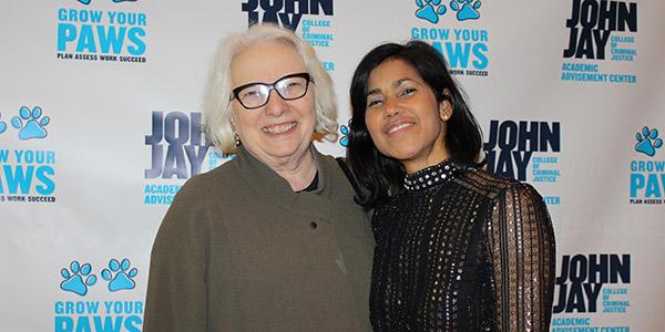 Jane Bowers and Sumaya Villanueva