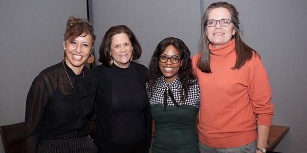 Nina Rose Fischer, Alisse Waterston, Andrene Wright and Caroline Reitze