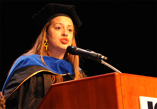 Assemblywoman Cruz'05 offers students sound advice
