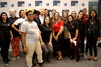 Richard Branson with the National Society of Leadership and Success (NSLS)