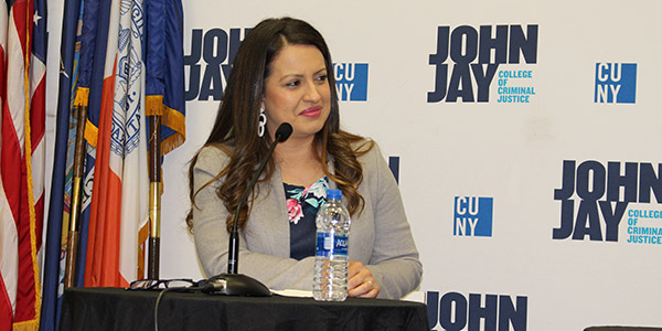 Catalina Cruz at John Jay College