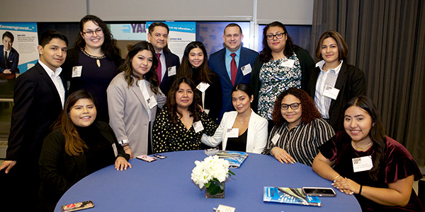 Students at the Champions of Justice Reception 2019