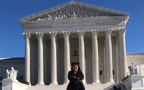 Cho in front of the United States Supreme Court