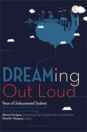 Dreaming Out Loud includes 58 personal essays, short stories, and poems from undocumented CUNY students who participated in the DREAMing Out Loud writing workshops.