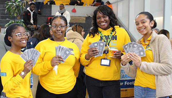 COSL members holding Honor Dollars