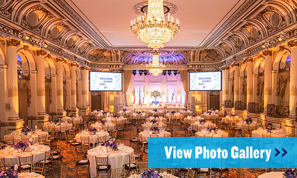 View photos of the Educating for Justice Gala 2019