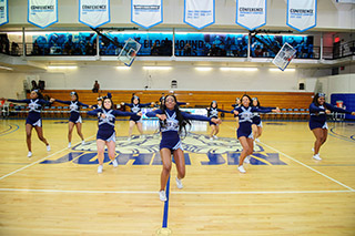 John Jay Cheerleading team