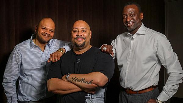 Kevin Richardson, Raymond Santana and Yusef Salaam