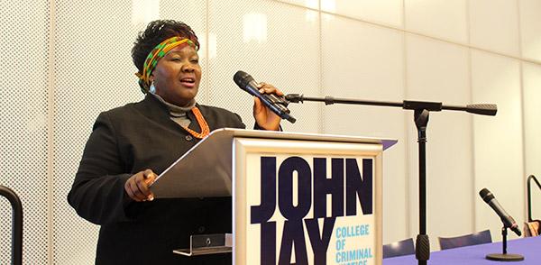 Fainess Lipenga telling her story