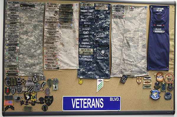 Recognizing John Jay veterans