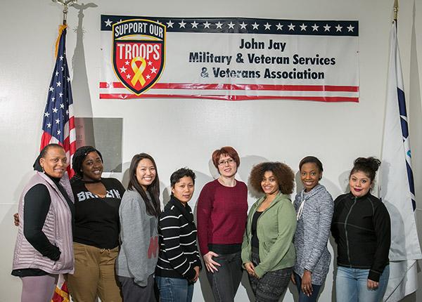 John Jay's female veterans