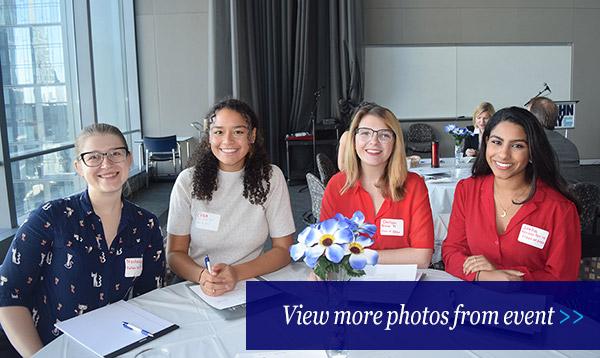 Photo gallery from Moelis Fellows breakfast