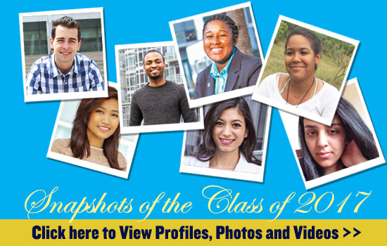 Snapshots of the Class of 2017
