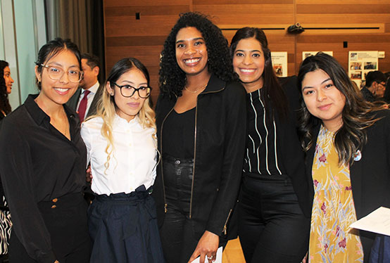 Students were all smiles at the LLS end of the year event