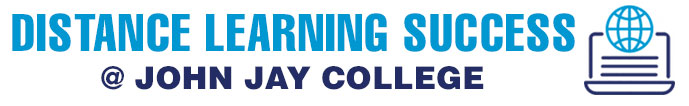 John Jay Distance Learning logo