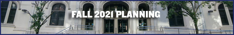 Fall 2021 Planning banner