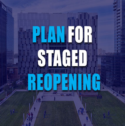 Plan for Staged Reopening
