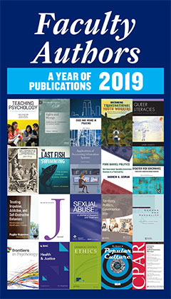 Faculty Authors - A Year of Publication 2019