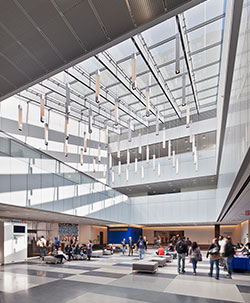 John Jay College campus interior