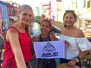 John Jay students abroad