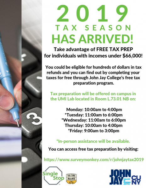 Tax Prep Flyer