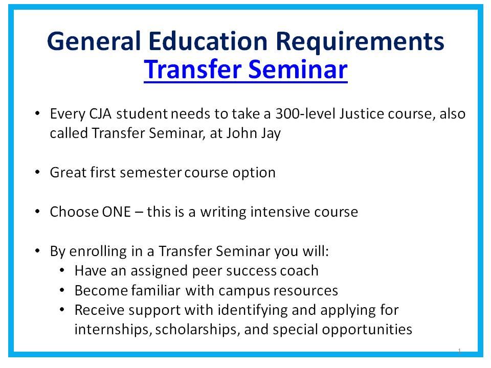 Transfer Seminar