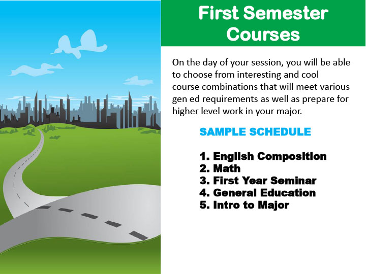 First Semester Courses