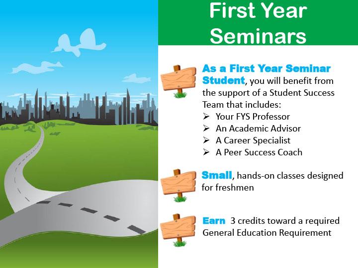 First Year Seminars