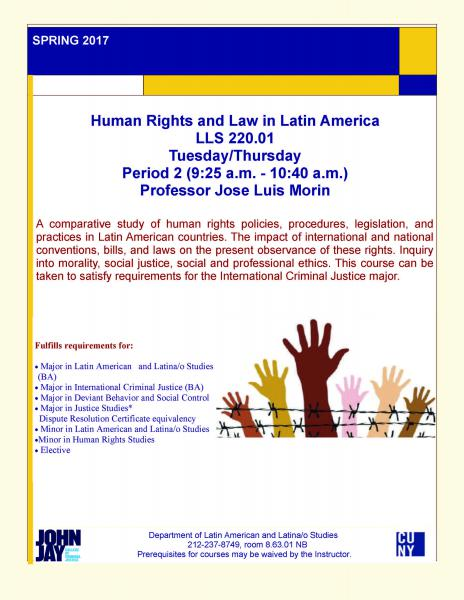 LLS220.01 Human Rights and Law in Latin America