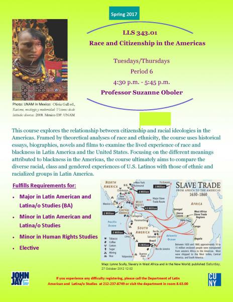 LLS 343.01 Race and Citizenship in the Americas