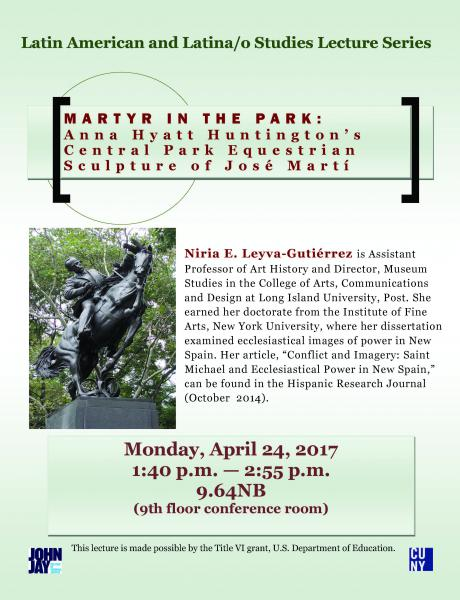 Latin American and Latina/o Studies Lecture Series