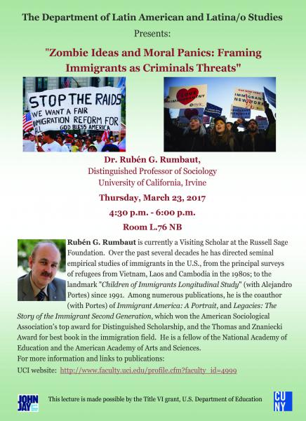 Zombie Ideas and Moral Panics: Framing Immigrants as Criminals Threats