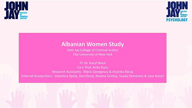 Albanian Women Study