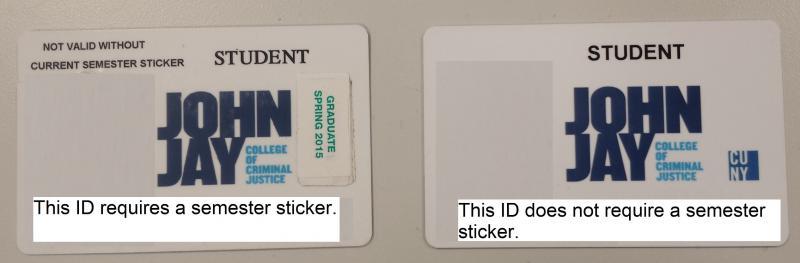 Semester sticker