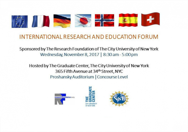 National Research and Education Forum