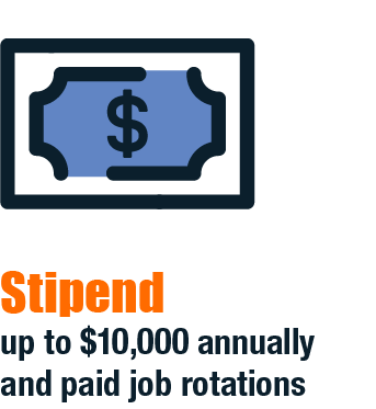 Stipend and paid rotations