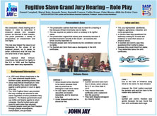 Fugitive Slave Grand Jury Hearing – Role Play