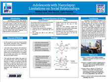 Adolescents with Narcolepsy : Limitations on Social Relationships