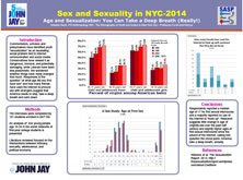 Sex and Sexuality in NYC-2014 Age and Sexualizaton: You Can Take a Deep Breath (Really!)
