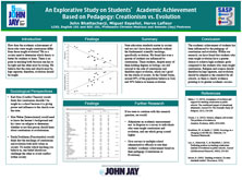 An Explorative Study on Students'Academic Achievement Based on Pedagogy: Creationism vs Evolution