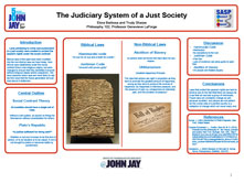 The Judiciary System of a Just Society