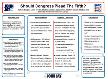 Should Congress Plead The Fifth?