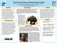 The Pros and Cons of Government Lying