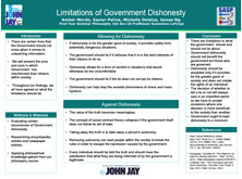 Limitations of Government Dishonesty