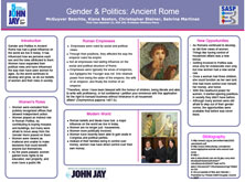 Gender & Politics : Ancient Rome