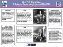 New York Orphanage: A Historical Background between 1872-1874